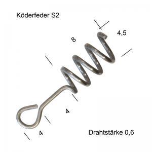 Пружинка тип S2 50 бр