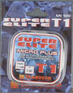 Влакно Trabucco Super Elite T1 micro plus 0.16 мм