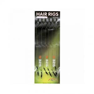 Пакет от 6 бр. Вързани куки за монтаж на косъм комбинирани 12-24 либри номера 2 4 6