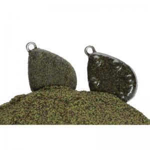 Грапава боя на прах графитено-зелена за оловни тежести 500 гр.