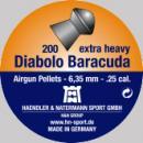 Сачми въздушно оръжие H&N Diabolo Baracuda 6.35 мм 200 бр.