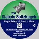 Сачми въздушно оръжие H&N Diabolo Spitzkugeln 5.5 мм 200 бр.