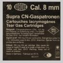 газов патрон Supra CN 8 мм PA черни