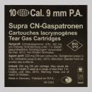 газов патрон Supra CN 9 мм PA черни