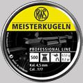 Сачми въздушно оръжие RWS Meister 4.5 500 бр.
