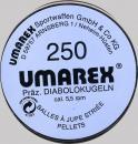 Сачми въздушно оръжие Umarex класик гладък връх с ресни 5.5 мм 250 бр. match