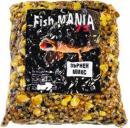 Зърнен микс от варена царевица жито и коноп
