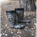 Ловни обувки Ботуши камуфлаж топли високи N 44