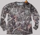 Облекло лов и риболов Тениска Браунинг дълъг ръкав камо L