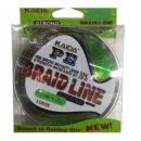 Влакно плетено Kaida PE Braid Line 0.16 мм 100 м зелено