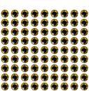 3D оптични златни очички 6 мм 120 бр.