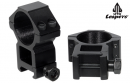 Комплект монтажни скоби за оптика високи Ф30 база 22 мм 2 броя