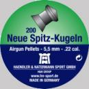 Сачми въздушно оръжие H&N Neue Spitz-kugeln New pointed Slugs 5.5 мм 200 бр. последен