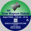 Air gun pellets H&N Crow Magnum Diabolo 5.5 mm 200 pcs