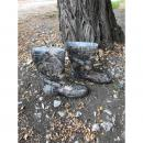 Silicone boots camo short N2243