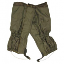 Leather accessory Gaiters OD Green 20123B