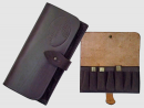 Leather accessory Leather cartridge-box Joralti for 7 hunting cartridges