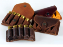 Bandolier Leather cartridge-box for hunting cartridges