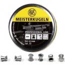 Air gun pellets RWS Meisterkugeln cal 5.5 mm 500 pcs 0.91 gr